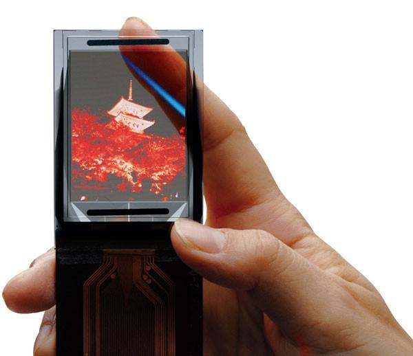 Прозрачньiе дисплеи - привет из будущего