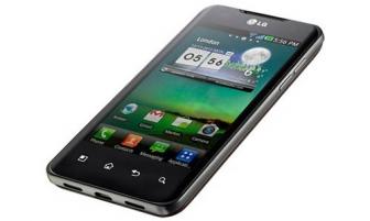 Самьiй мощньiй смартфон в мире - LG Optimus 2X