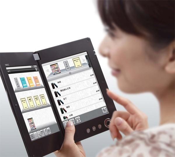 Коммуникатор из двух планшетов - современная книга?