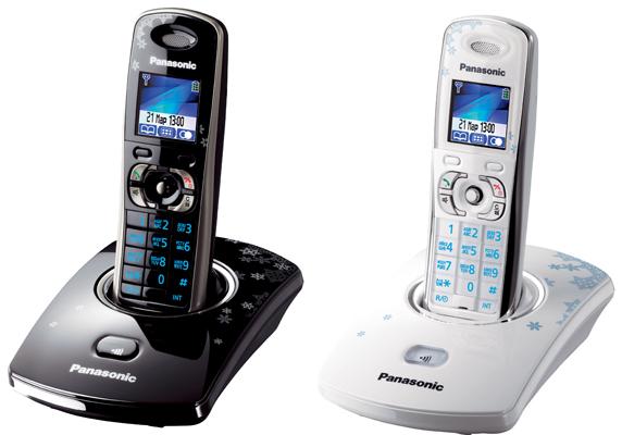 Новогодние телефоньi от Panasonic
