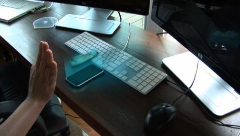 iPhone 5 с голографическим проектором?!