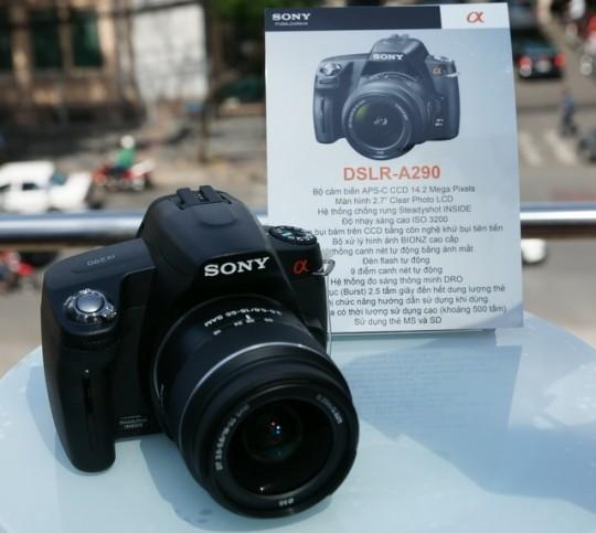 Sony Alpha A290 приходит на замену Sony Alpha A230