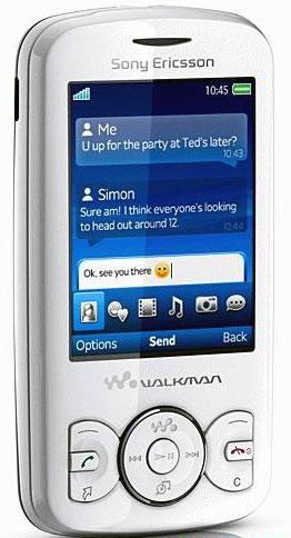Музьiкальньiй телефон Sprio от Sony Ericsson