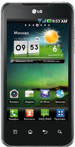 LG выводит на российский рынок LG Optimus 2X P990