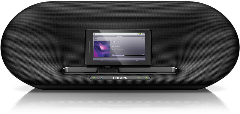 Док-станции Fidelio от Philips для Android смартфонов и планшетов