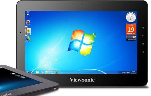 ViewSonic начинает продавать новый двухсистемный планшетный ПК ViewPad 10pro