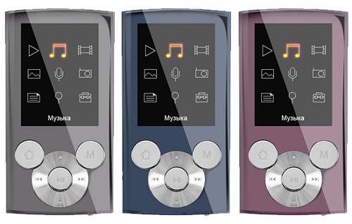 teXet представил новый MP3-плеер T-490