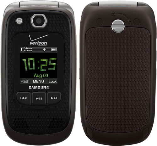 Samsung представил для Verizon Wireless защищенную «раскладушку»