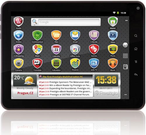 Prestigio расширяет линейку планшетов MultiPad