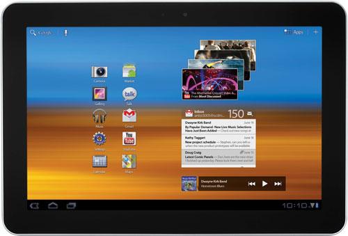 Для Verizon Wireless доступна 4G LTE версия Samsung Galaxy Tab 10.1