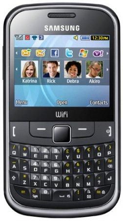 Телефон Samsung S3350 с QWERTY-клавиатурой на российском рынке