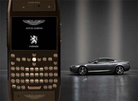 Mobiado предстаавила люкс-смартфон Grand 350 Aston Martin