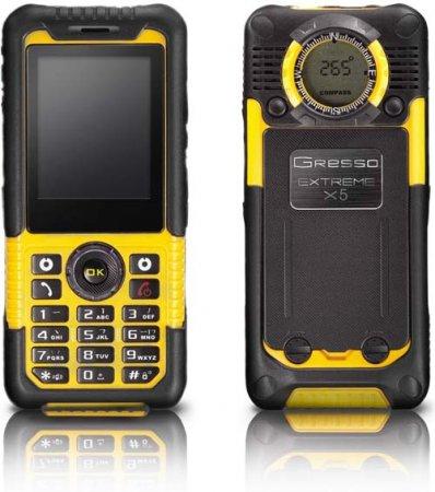 Extreme X3 и Х5 – защищенные телефоны от Gresso