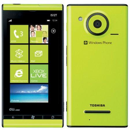 Windows Phone IS12T: водостойкий смартфон на базе Windows Phone Mango