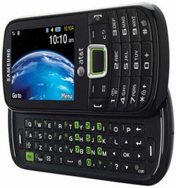 Samsung a667 Evergreen - телефон из переработанного пласика