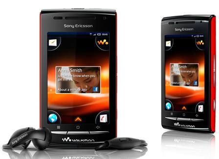 Sony Ericsson W8: Walkman-смартфон на основе Android 2.1