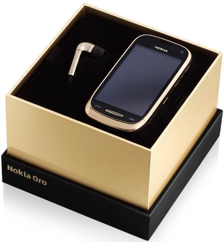 Смартфон Nokia Oro в коже и золоте: старт продаж в России