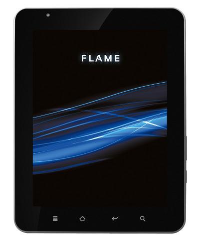 QUMO Flame: Android-планшет с емкостным экраном и 3G