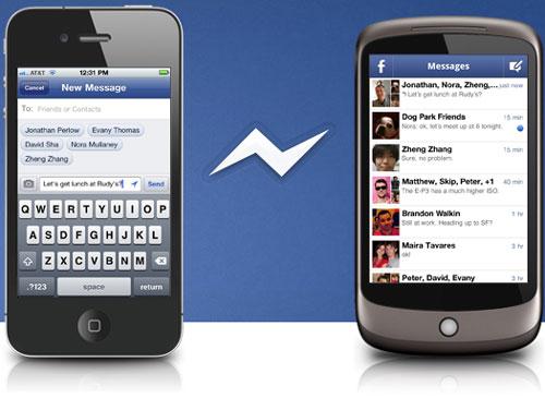 Facebook выпускает отдельное приложение для чата в своей сети