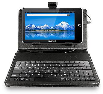 Планшет RoverPad 3W G70 оснастили чехлом с клавиатурой