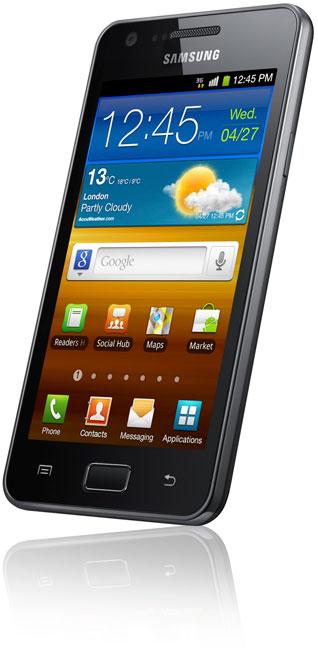 Samsung официально представляет Android смартфон GALAXY R