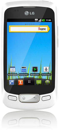 LG Optimus One P500 получил обновление Android 2.3