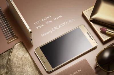 Смартфон Samsung Galaxy Alpha с поддержкой быстрого доступа в сеть по технологии LTE Advanced доступен для России.